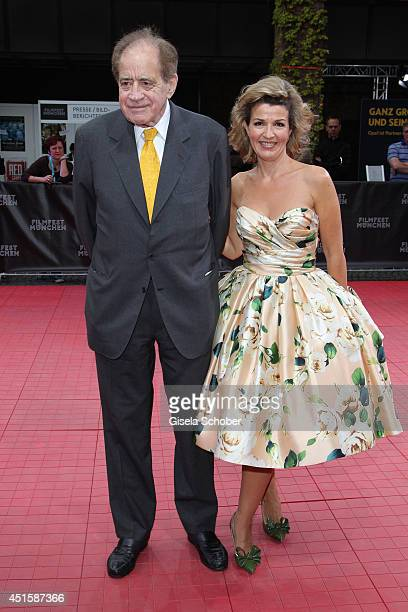 Arthur Cohn and Anne Sophie Mutter attend the 'Gala Abend mit Arthur Cohn' as part of Filmfest Muenchen 2014 at Gasteig on July 1 2014 in Munich...