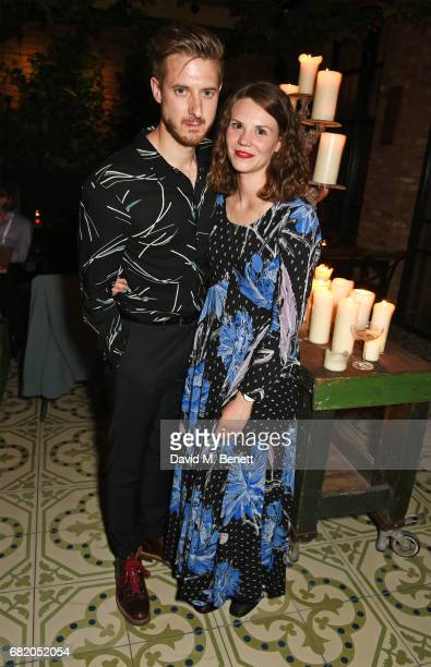 Arthur Darvill and Ines De Clercq attend the launch of The Curtain in Shoreditch on May 11 2017 in London England