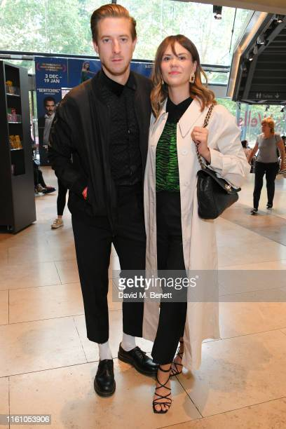 Arthur Darvill and Ines de Clercq attend the press night performance of Matthew Bourne's Romeo And Juliet at Sadler's Wells Theatre on August 11 2019...