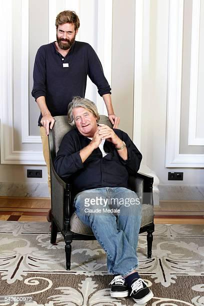 Arthur de Kersauson director with is father Olivier Kersauson navigator at the 62th International Film Festival of San Sebastian