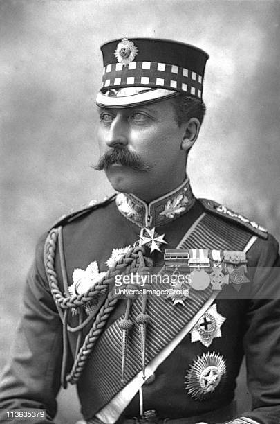 Arthur Duke of Connaught third son of Queen Victoria and Prince Albert Photograph published London c1890