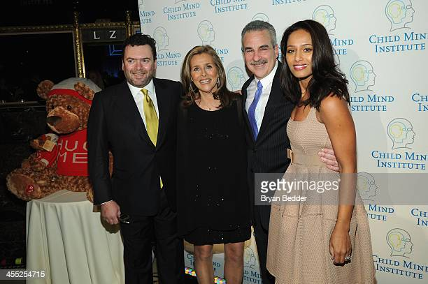 Arthur G Altschul Jr Meredith Vieira Dr Harold S Koplewicz and Rula Jebreal attend the Child Mind Institute 4th Annual Child Advocacy Award Dinner at...