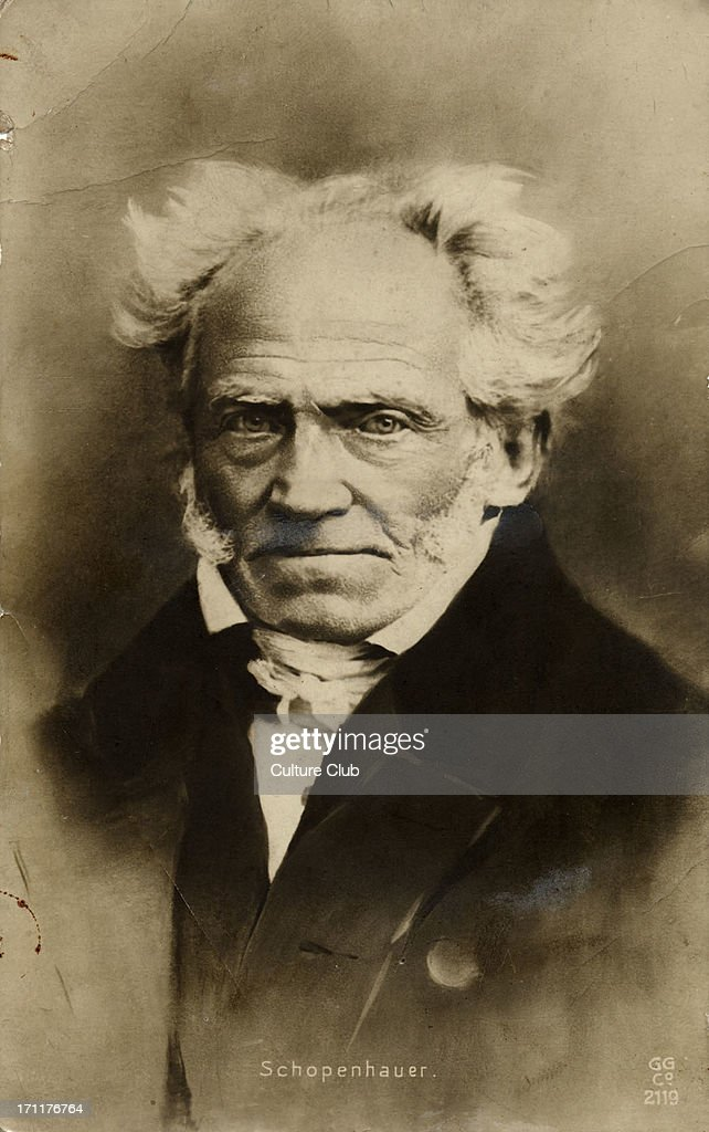 SCHOPENHAUER, Arthur - German philosopher, : News Photo