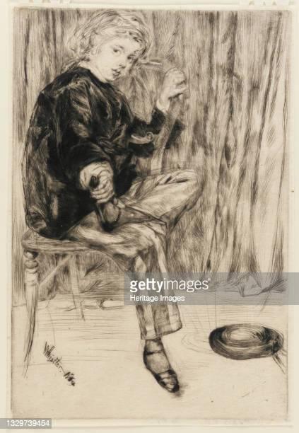 Arthur Haden, 1859. Artist James Abbott McNeill Whistler.