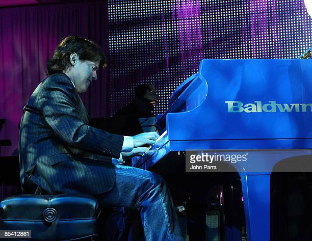 Arthur Hanlon and Anthony Federov performs at the 16th Annual BMI Latin Music Awards at Breakers Hotel on March 12 2009 in Palm Beach Florida