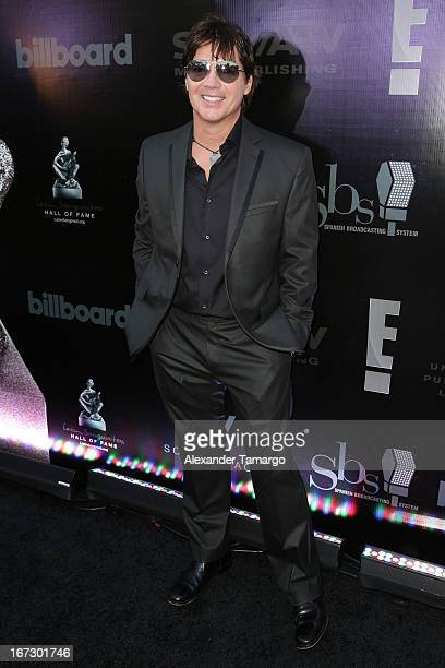 Arthur Hanlon arrives at Latin Songwriters Hall of Fame Gala at New World Center on April 23 2013 in Miami Beach Florida