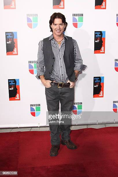 Arthur Hanlon arrives at recording of Somos El Mundo We Are The World by Latin recording artits at American Airlines Arena on February 19 2010 in...