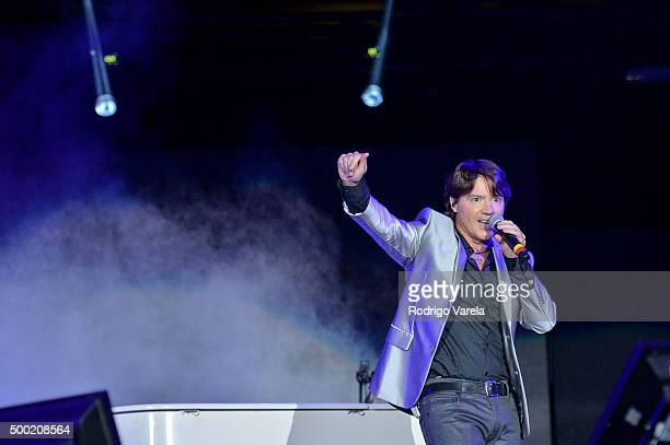 Arthur Hanlon on stage at Grand Slam Party Latino at Marlins Park on December 5 2015 in Miami Florida
