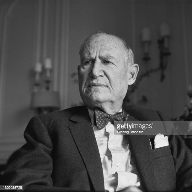 Arthur Hays Sulzberger , former publisher of 'The New York Times', UK, September 1966.
