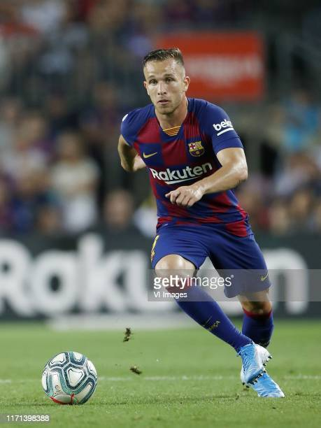 Arthur Henrique Ramos de Oliveira Melo of FC Barcelona during the LaLiga Santander match between FC Barcelona and Villarreal CF at the Camp Nou...