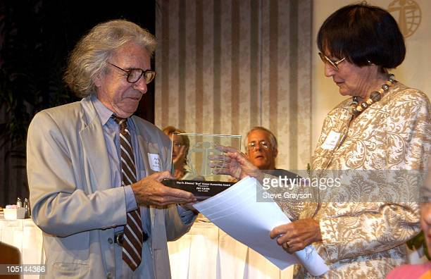 Arthur Hiller and Fay Kanin during The 29th Annual Humanitas Awards at The Universal Hilton in Universal City, California, United States.