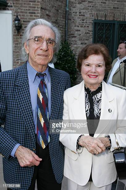 Arthur Hiller and Gwen Hiller during Norman Jewison Book Signing Hosted by Alain Dudoit, Consul General of Canada at Canadian Residence in Los...