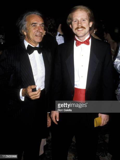 Arthur Hiller and Ron Howard during 38th Annual Directors Guild of America Awards at Beverly Hilton Hotel in Beverly Hills, California, United States.