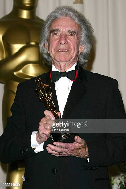 Arthur Hiller during The 74th Annual Academy Awards - Press Room at Kodak Theater in Hollywood, California, United States.