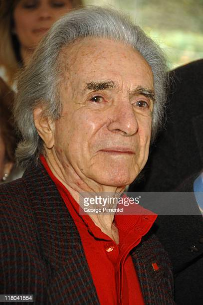 Arthur Hiller during The Canadian Consulate Honors the 79th Annual Academy Award Nominees at Canadian Residence in Hancock Park, California, United...