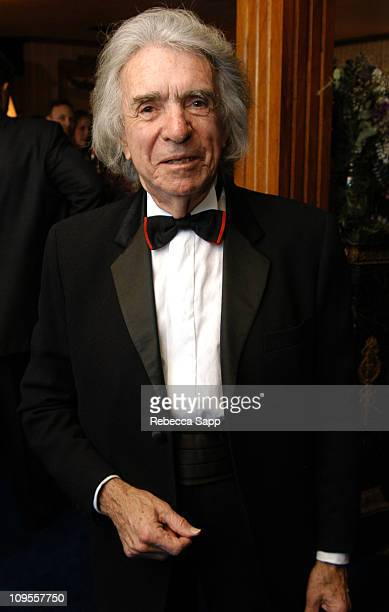 Arthur Hiller during The Society of Composers and Lyricists Honors Oscar-Nominated Composers and Songwriters at Pre-Oscar Reception at Private...