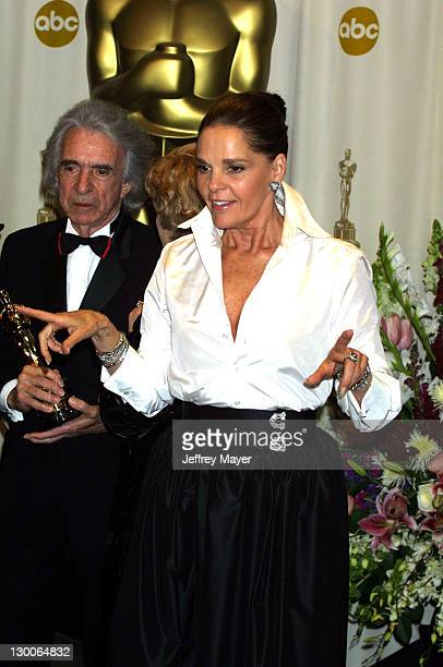 Arthur Hiller, Honorary Academy Award winner, with presenter Ali MacGraw