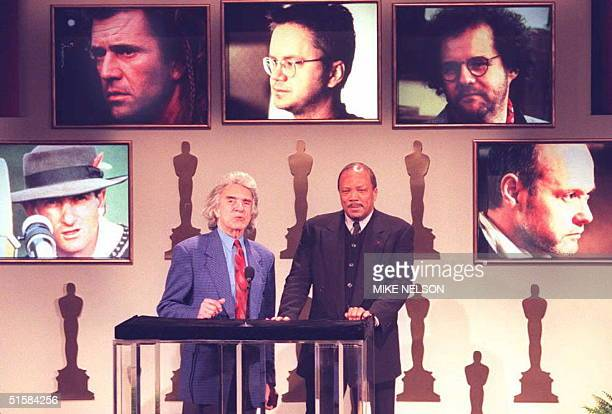 Arthur Hiller , President of the Academy of Motion Picture Arts and Sciences, and composer Quincy Jones, who will produce the 68th Academy Awards,...