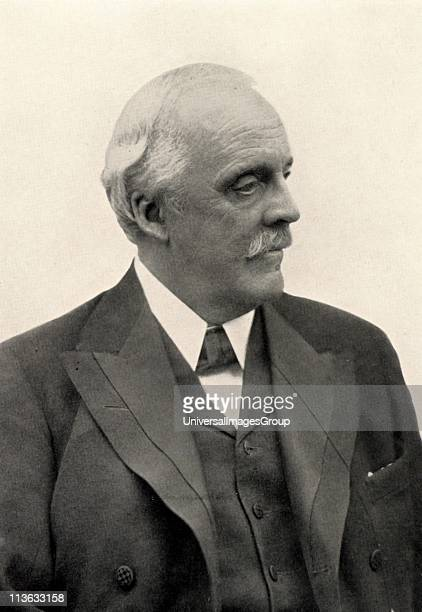 Arthur James Balfour 1st Baron Balfour Scottishborn British Conservative statesman Prime Minister 19021905 Balfour Declaration Halftone