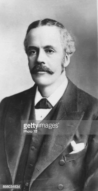 Arthur James Balfour 1st Earl Balfour Scottishborn British Conservative statesman and philosopher Prime Minister 19025 Balfour Declaration 1917...