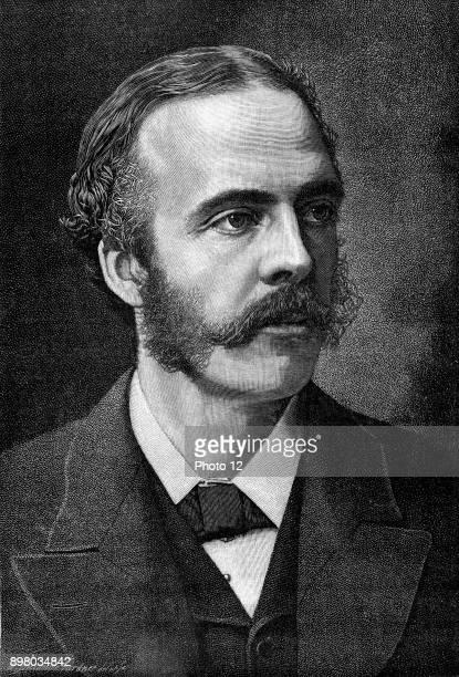 Arthur James Balfour 1st Earl Balfour Scottishborn British Conservative statesman and philosopher Prime Minister 19025 Balfour Declaration 1917 Wood...