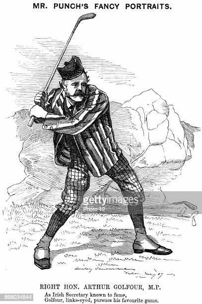 Arthur James Balfour 1st Earl Balfour Scottishborn British Conservative statesman and philosopher Prime Minister 19025 Balfour Declaration 1917 A...