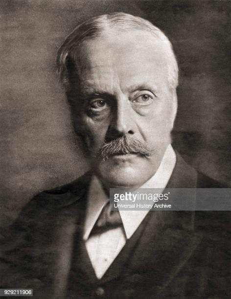 Arthur James Balfour 1st Earl of Balfour 1848 –1930 British Conservative politician statesman and Prime Minister of the United Kingdom From The New...