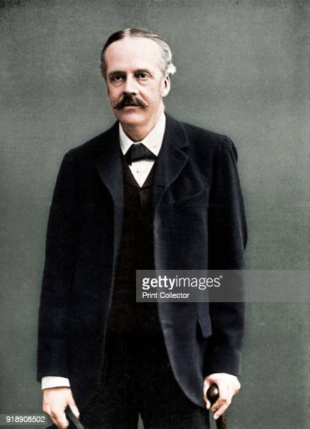 Arthur James Balfour 1st Earl of Balfour British statesman and Prime Minister c1905 A Conservative Balfour was Prime Minister from 19021905 He is...