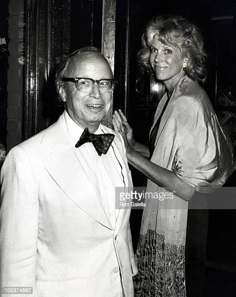 Arthur M Schlesinger Jr and Alexandra Schlesinger