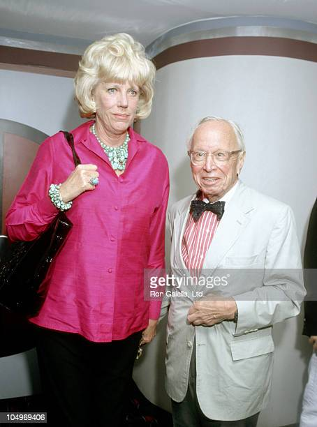 Arthur M Schlesinger Jr and wife Alexandra during 'The Game' New York Premiere at Sony 19th Street East Theater in New York City New York United...