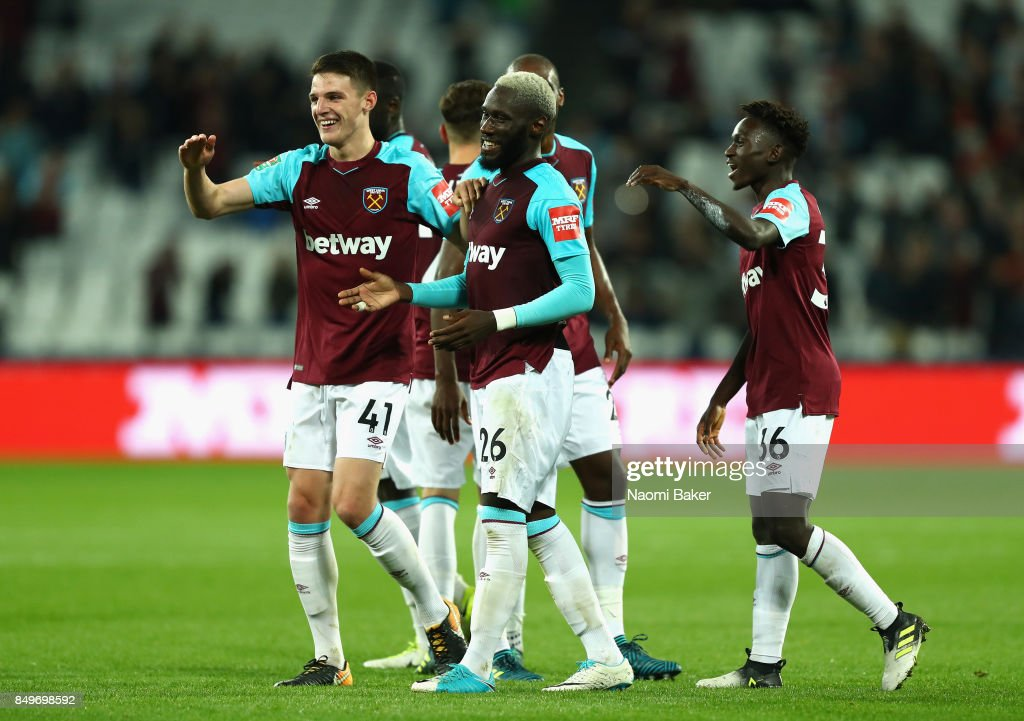 West Ham United v Bolton Wanderers - Carabao Cup Third Round : News Photo