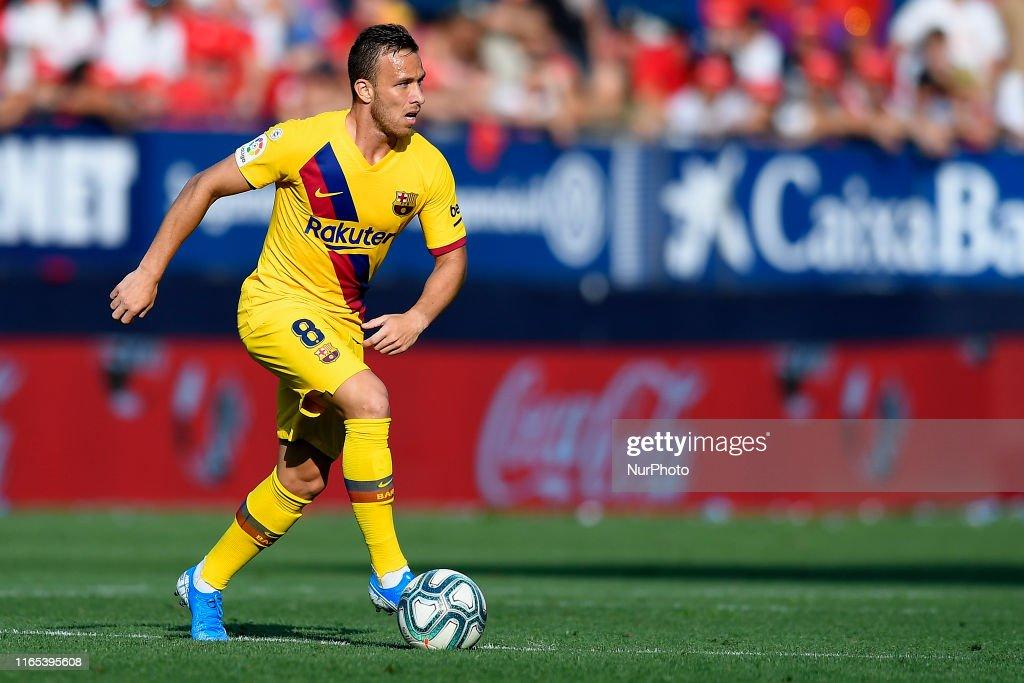 CA Osasuna v FC Barcelona  - La Liga : News Photo