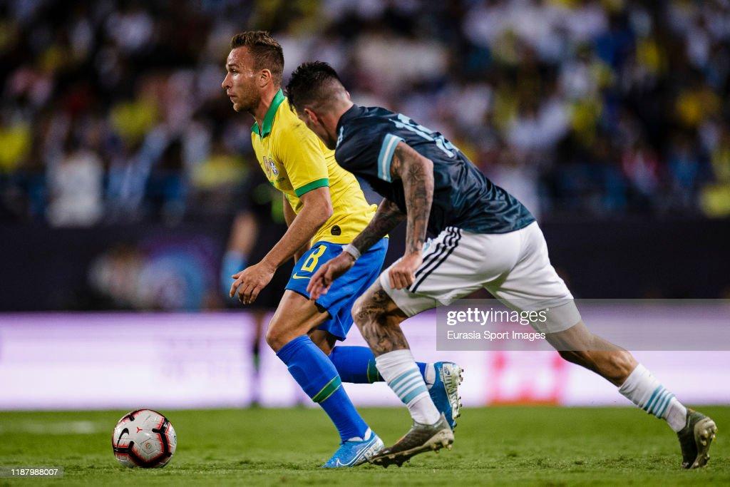 Brazil v Argentina - International Friendly : News Photo