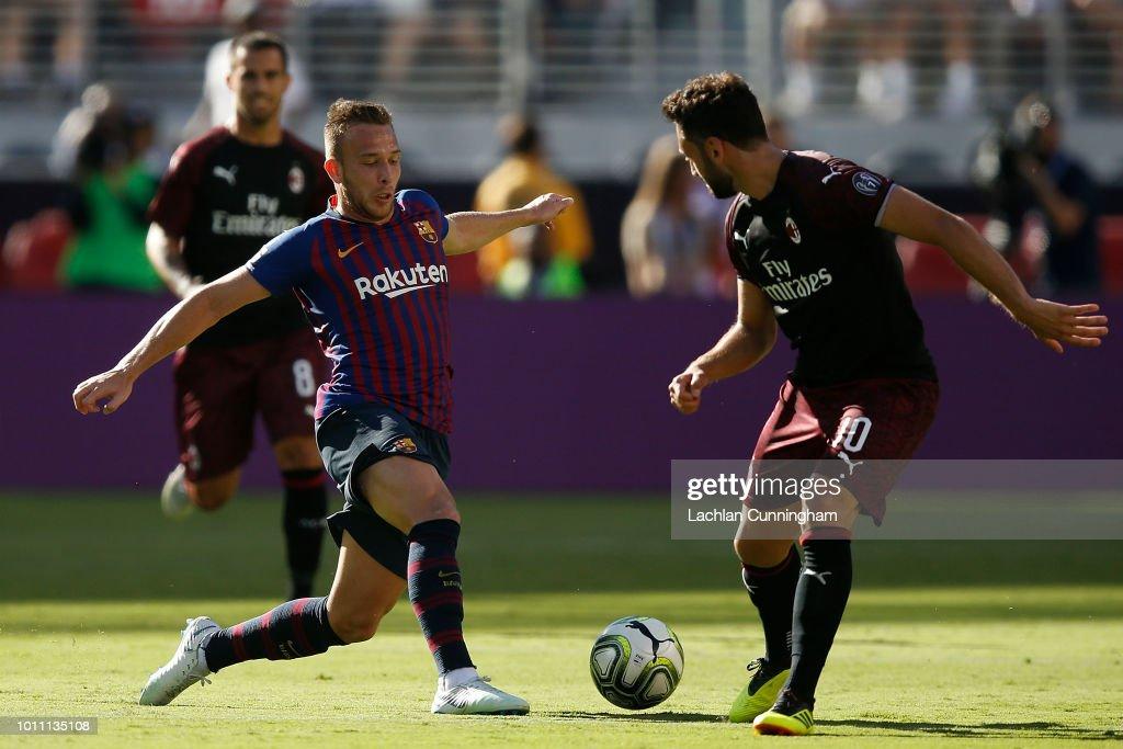 AC Milan v FC Barcelona - International Champions Cup 2018 : News Photo