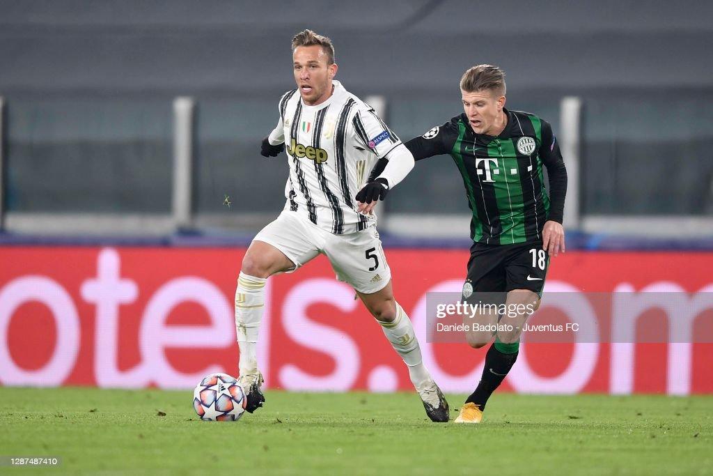 Juventus v Ferencvaros Budapest: Group G - UEFA Champions League : News Photo