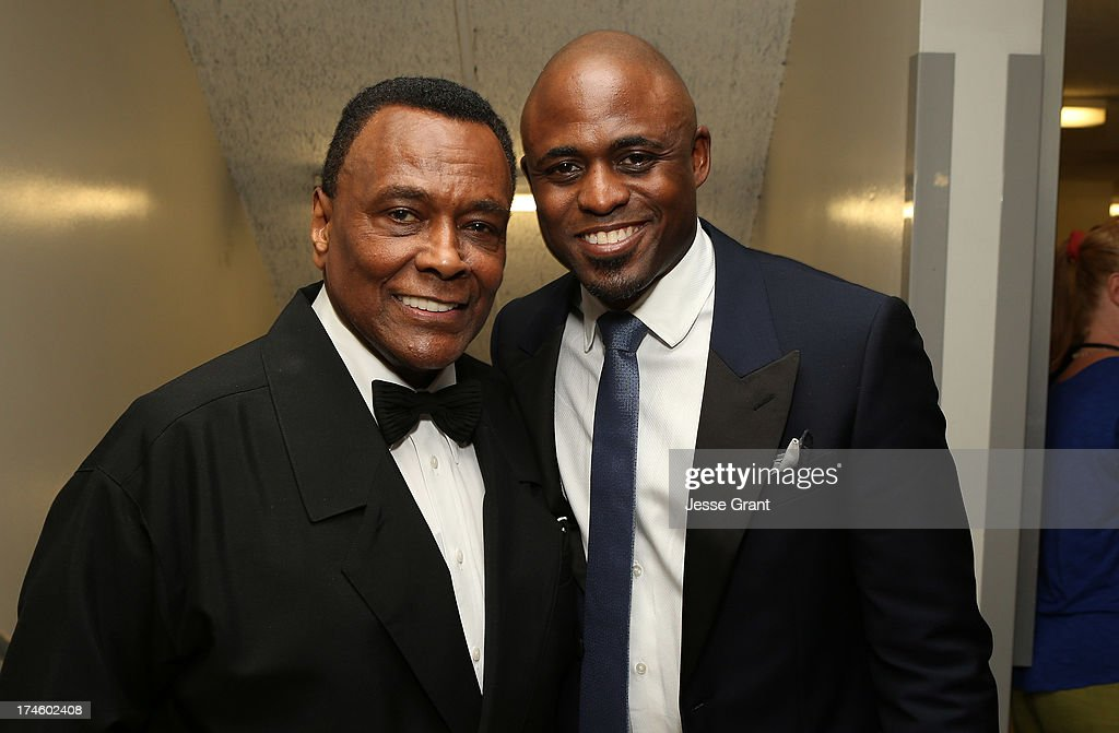 Arthur Mitchell and Wayne Brady attend the Dizzy Feet Foundation Third 'Celebration of Dance' Gala at The Music Center on July 27, 2013 in Los Angeles, California.