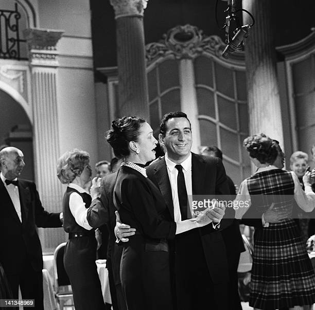 PARTY Arthur Murray Special for Bob Hope Aired Pictured host Arthur Murray actress/singer Dorothy Collins Actress Dorothy Lamour Singer Tony Bennett...