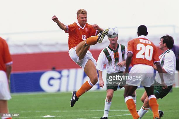 Arthur Numan during the FIFA World Cup 1994 round of 16 match between Netherlands and Ireland om July 4 1994 at the Citrus Bowl stadium in Orlando...