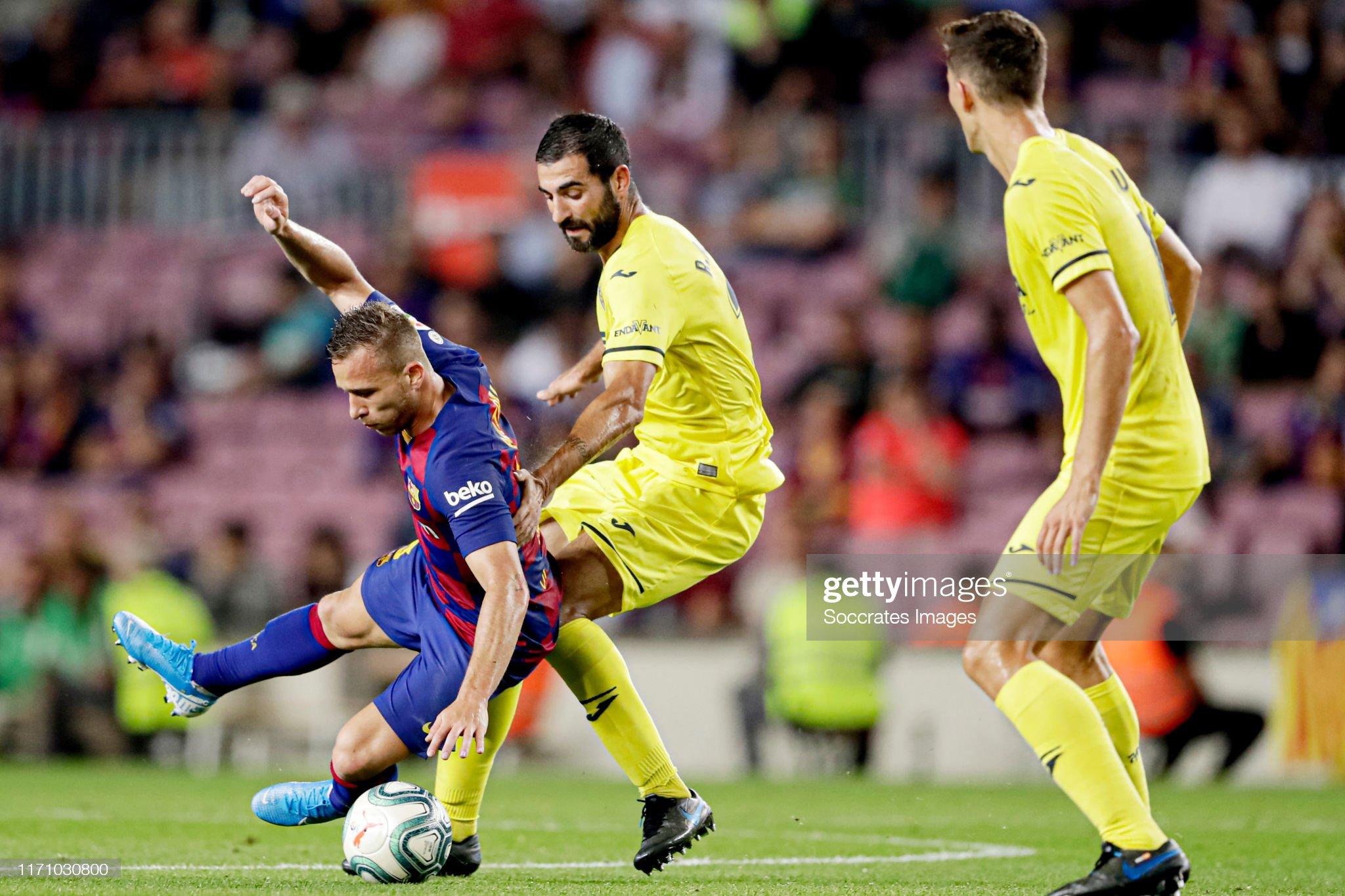 صور مباراة : برشلونة - فياريال 2-1 ( 24-09-2019 )  Arthur-of-fc-barcelona-raul-albiol-of-villarreal-during-the-la-liga-picture-id1171030800?s=2048x2048
