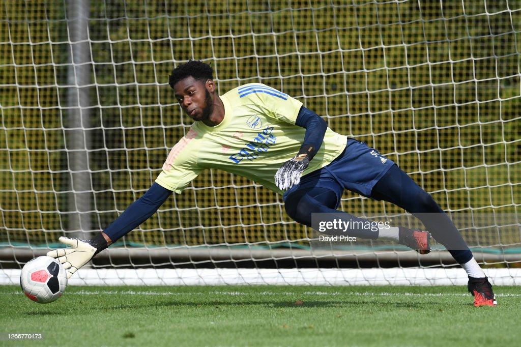 Arsenal U23 Training Session : News Photo