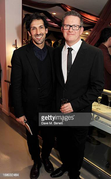 Arthur Pita and Matthew Bourne attend an after party following the press night performance of Matthew Bourne's Sleeping Beauty at Sadler's Wells...