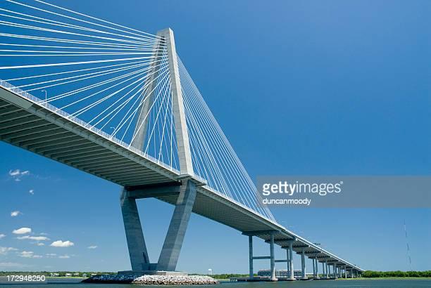 Arthur Ravenel Jr Ponte sobre o Rio Cooper, Charleston na Carolina do Sul