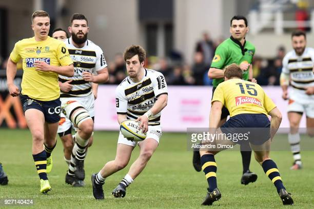 Arthur Retiere of La Rochelle during the French Top 14 match between Clermont and La Rochelle at Stade Marcel Michelin on March 4 2018 in...