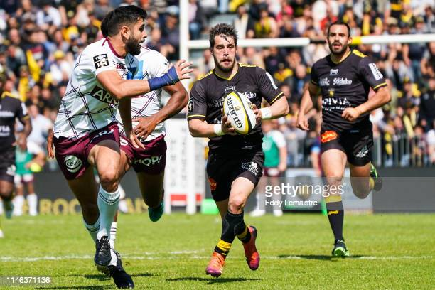 Arthur Retiere of La Rochelle during the Top 14 match between La Rochelle and Bordeaux Begles on May 25 2019 in La Rochelle France