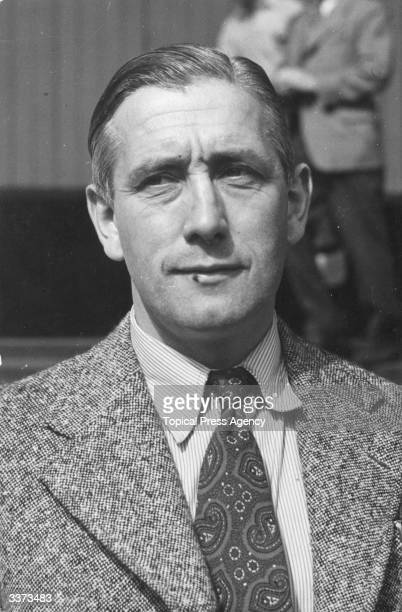 Arthur Rowe manager of Tottenham Hotspur FC from 1949 to 1955