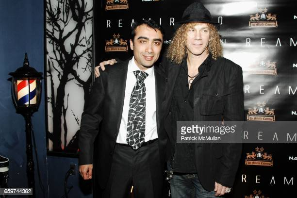 Arthur Rubinoff and David Bryan attend REAMIR CO Launch Party for their new SIGNITURE PRODUCTS Performance by MICHAEL IMPERIOLI LA DOLCE VITA at...