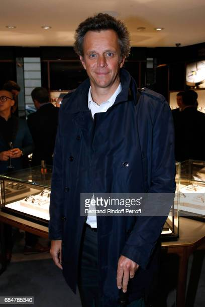 Arthur Sadoun attends the Montblanc ChampsElysees Flagship Reopening on May 18 2017 in Paris France