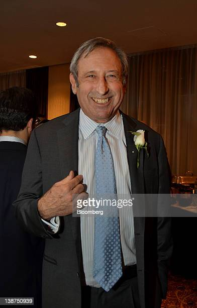 Arthur Samberg chairman of JetSuite stands for a photograph during the UJAFederation of New York Wall Street Dinner in New York US on Wednesday Dec...