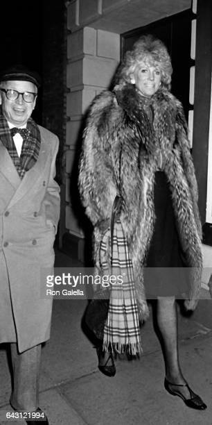 Arthur Schlesinger and Alexandra Schlesinger attend PEN Literary Celebration Gala on December 14 1985 in New York City