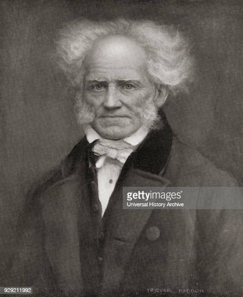 Arthur Schopenhauer 1788 – 1860 German philosopher From Bibby's Annual published 1910